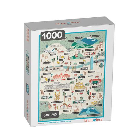 Santiago - 1000 Piezas