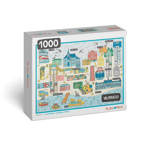 Valparaíso - 1000 Piezas
