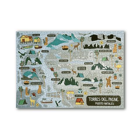 Puerto Natales /Torres del Paine - 1000 Piezas