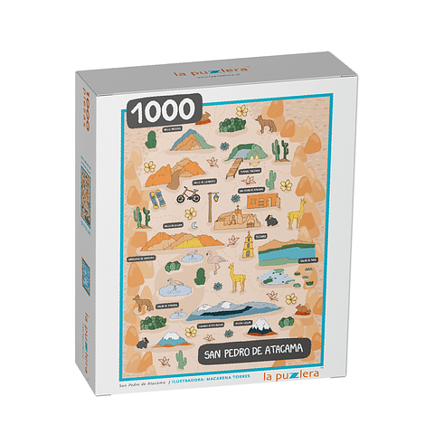 San Pedro de Atacama - 1000 Piezas