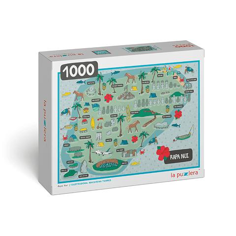 Rapa-Nui - 1000 Piezas