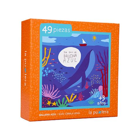Ballena Azul - 49 Piezas