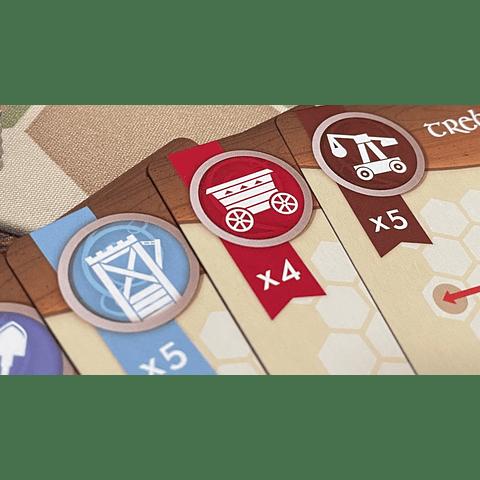 War Chest - Siege (Expansión)