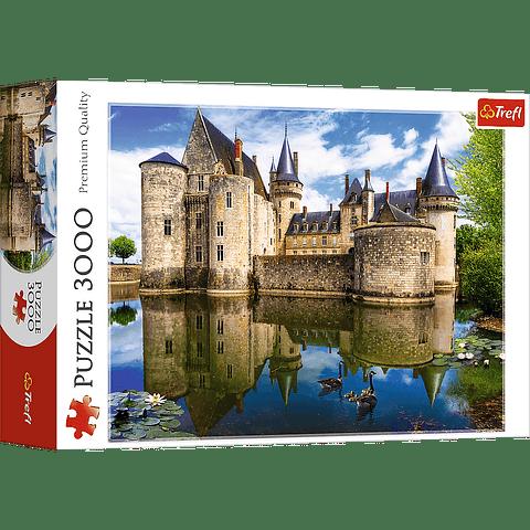 Castillo en Sully-sur-Loire, Francia
