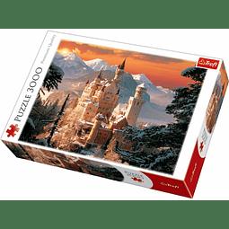 Castillo Wintry Neuschwanstein