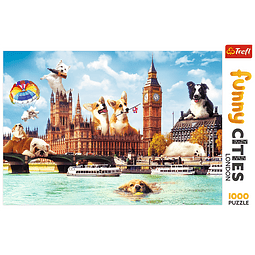 """""""Funny Cities"""": Perros en Londres"""