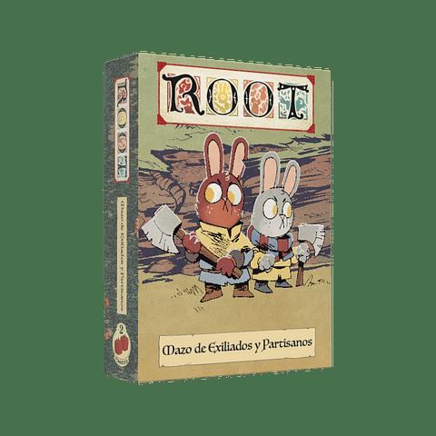Root: Pack de Cartas Exiliados y Partisanos - Preventa