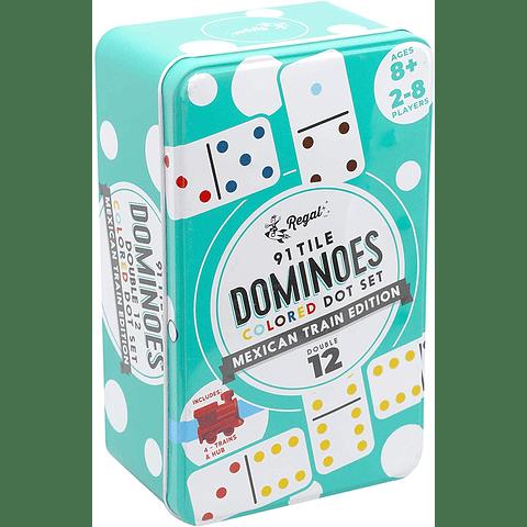 Dominó Doble 12 - Edición Tren Mejicano