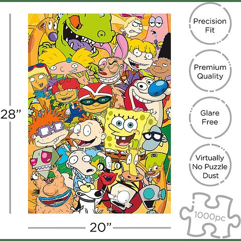 Elenco de Nickelodeon - 1000 piezas