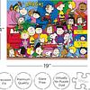 Elenco de Charlie Brown - 500 piezas