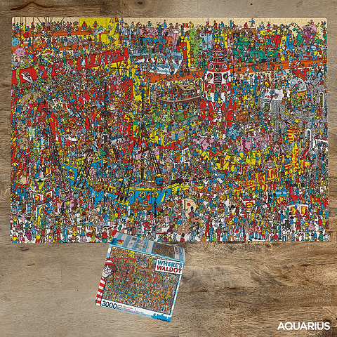 Dónde está Wally en Hollywood - 3000 piezas