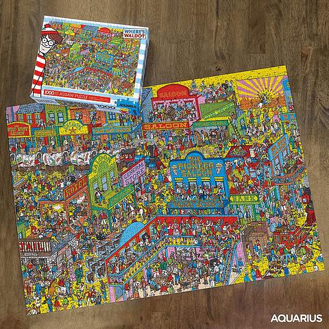 Dónde Está Wally en el Oeste - 1000 piezas