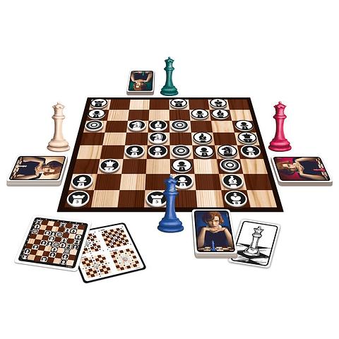Queen's Gambit: el juego de mesa