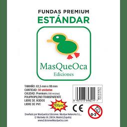 Protectores Estándar Masqueoca (50 Uds) 63,5x88 mm