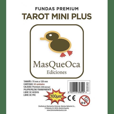 Protectores Tarot Mini Plus Masqueoca (50 Uds) 70 x 120 mm