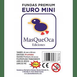 Protectores Euro Mini Masqueoca (50 Uds) 45x68 mm