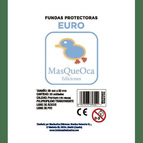 Protectores Euro Masqueoca (50 Uds) 59x92 mm