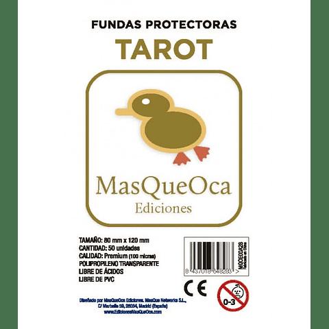 Protectores Tarot Masqueoca (50 Uds) 80X120 mm