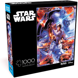 Star Wars Impresionante... Muy Impresionante - 1000 piezas