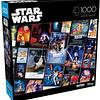 Star Wars Pósters de la Trilogía Original - 1000 piezas