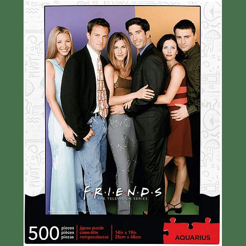 Elenco de Friends - 500 piezas