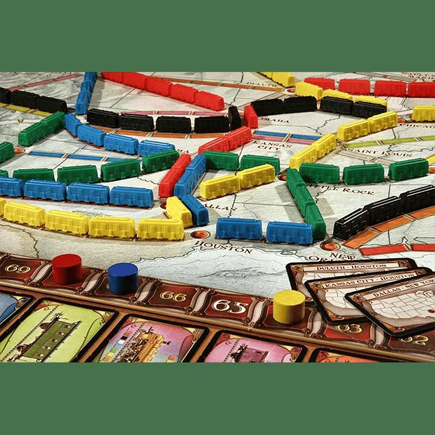 ¡Aventureros al Tren! (Ticket to Ride)