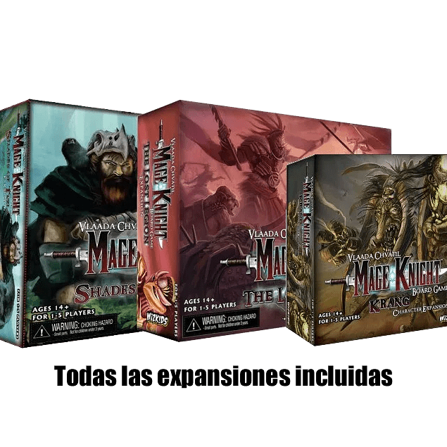 Mage Knight Edición Definitiva Revisada