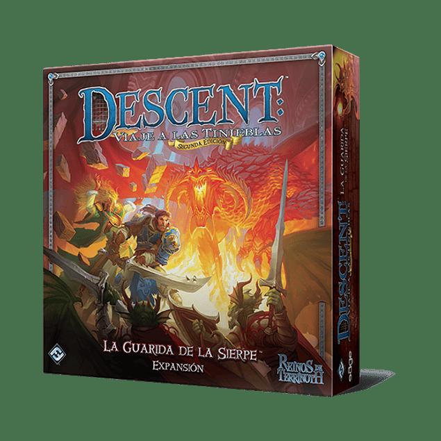 Descent: Viaje a las Tinieblas (Segunda Edición) - La Guarida de la Sierpe