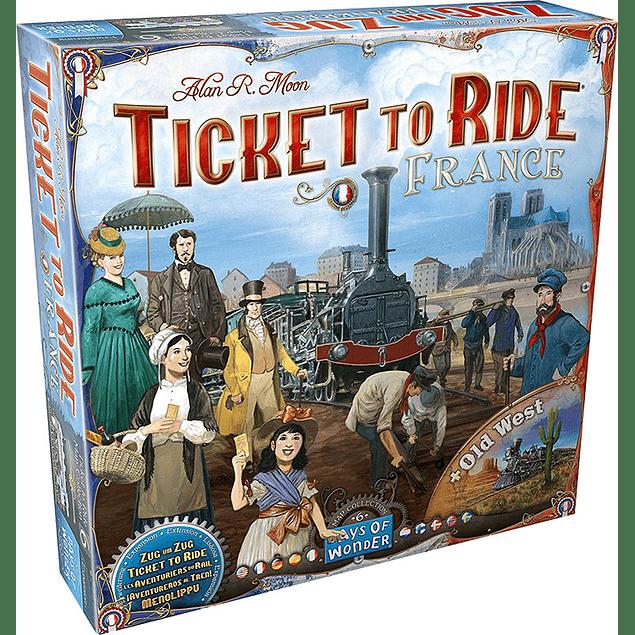¡Aventureros al Tren! (Ticket to Ride) - Francia (+El Lejano Oeste)