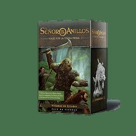 Viajes por la tierra Media: Pack de Figuras Villanos de Eriador