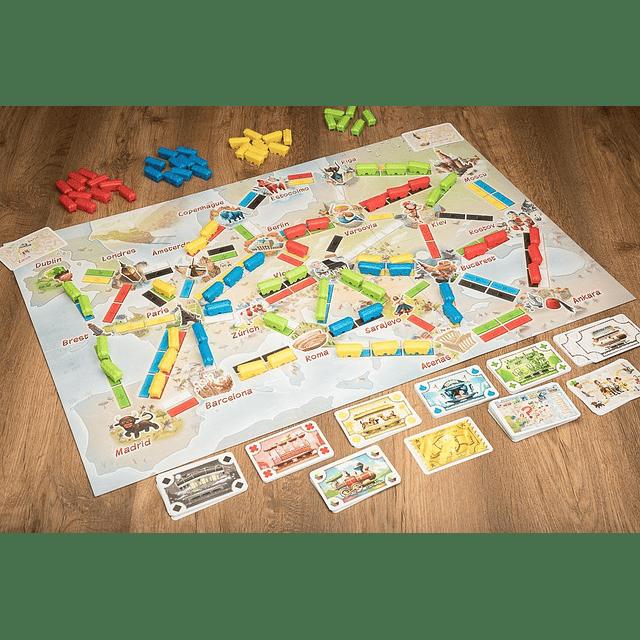 ¡Aventureros al Tren! El Primer Viaje