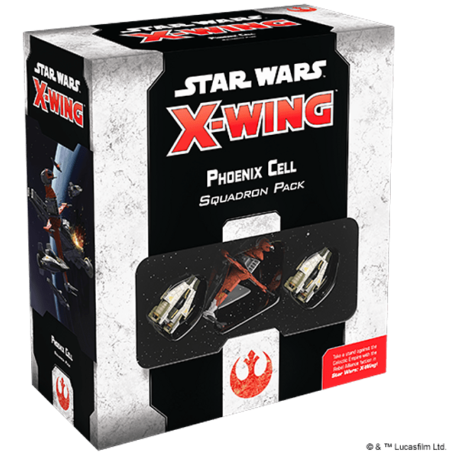 SW X-Wing 2ED: Phoenix Cell Squadron