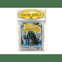 Dragon Shield Protector Estándar (x50) Negro
