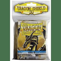 Dragon Shield Protector Estándar (x50) Gold