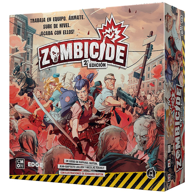 (Preventa) Zombicide Segunda Edición