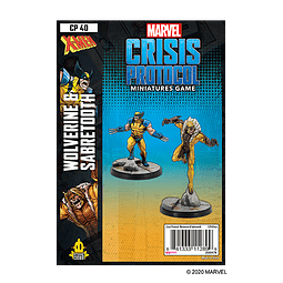 Marvel Crisis Protocol: Wolverine and Sabertooth Character Pack