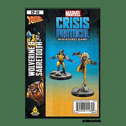 Marvel Crisis Protocol: Wolverine and Sabertooth