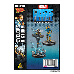 Marvel Crisis Protocol: Cyclops and Storm Character Pack