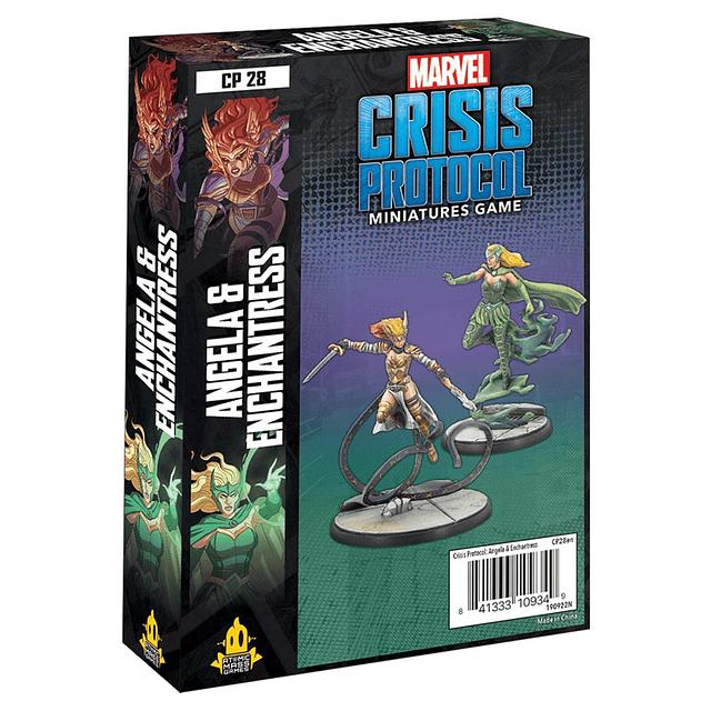 Marvel Crisis Protocol: Angela and Enchantress Character Pack