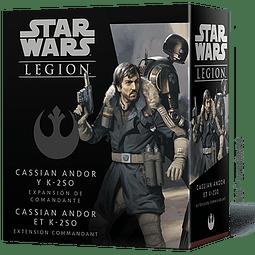 SW Legion: Cassian Andor y K-2SO