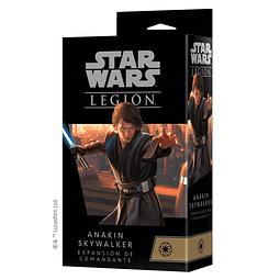 SW Legion Anakin Skywalker Expansión de Comandante