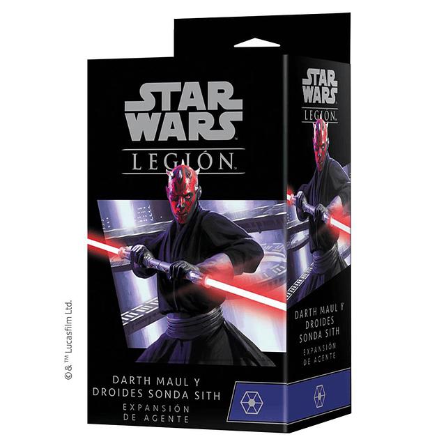 SW Legion Darth Maul y Droides sonda sith Expansión de agente