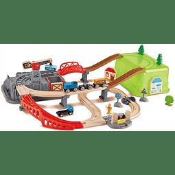 Juego de Bloques Ferrocarril