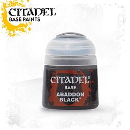 Citadel Base - Abaddon Black