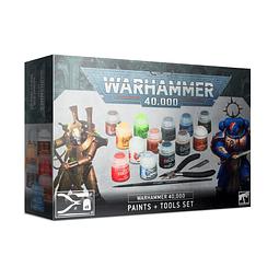 Warhammer 40.000: Set de Pinturas y Herramientas