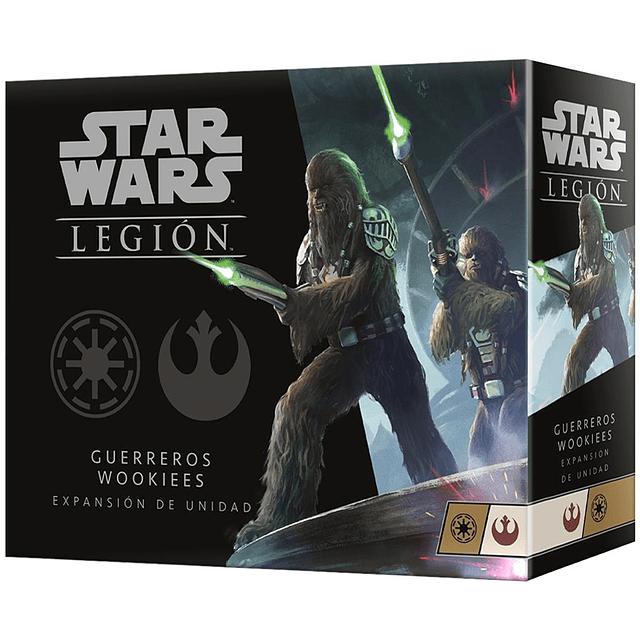 Star Wars Legion: Unidad de Guerreros Wookies (Preventa) (Español)