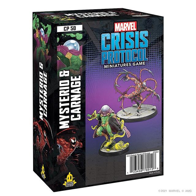 Marvel Crisis Protocol: Carnage & Mysterio