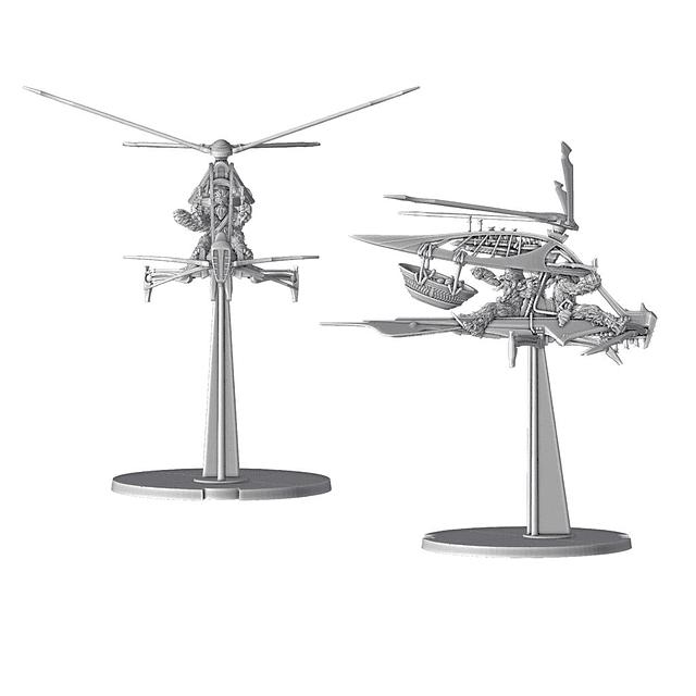 (Preventa) SW Legion: Ornitóptero Mosvispa Raddaugh