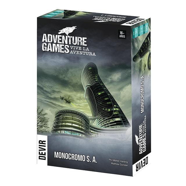 Adventure Games: Monocromo S.A