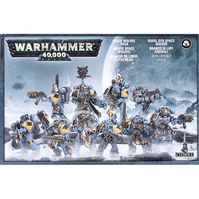 Space Wolves Pack (Old box)